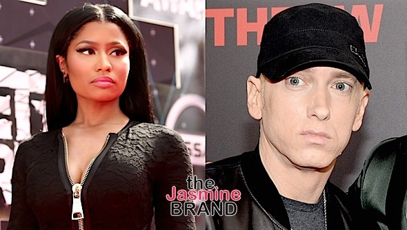 Nicki Minaj & Eminem Are NOT Dating