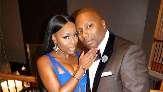 EXCLUSIVE: Married To Med's Quad Webb-Lunceford Blasted By Estranged Husband In Divorce – She Emptied Out My House & Took All The Furniture!