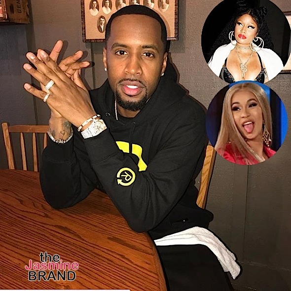 Safaree Reveals Why He's Celibate + Admits He Doesn't Like Nicki Minaj's New Music: People Love Cardi B's Personality