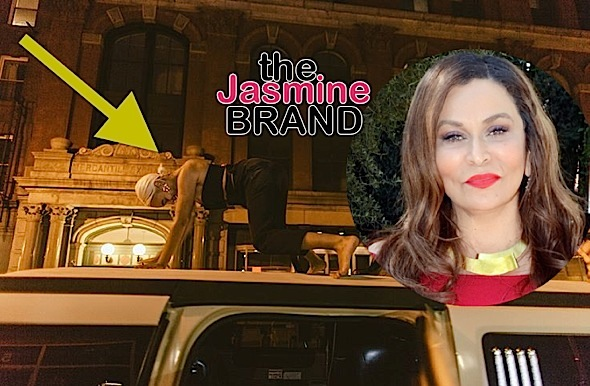 Tina Lawson Hilariously Reacts To Daughter Solange Twerking On Top of Car