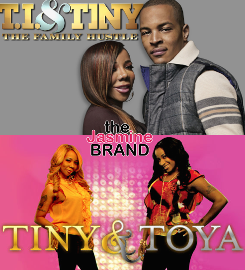 EXCLUSIVE: T.I. & Tiny Reality Show May Return, BET Offers 'Tiny & Toya' Reboot