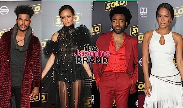 Boris Kodjoe, Yvette Nicole Brown, Alfonso Ribeiro, Billy Dee Williams, Trevor Jackson Hit 'Solo Star Wars' Premiere