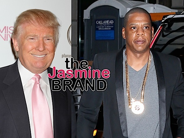 "Trump Calls Jay-Z's Language ""Filthy"" – I Attract Bigger Crowds Than Him!"