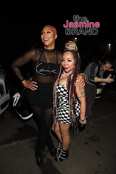 Tamar Braxton Goes Pink + Wale, Teyana Taylor, Offset, Tiny Harris Hit 'Pretty Little Things' After Party