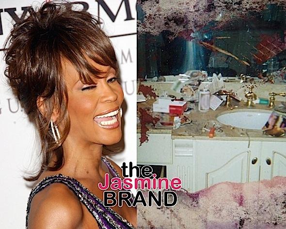 Whitney Houston's Drug Infested Bathroom Is Pusha T's Album Cover, Kanye Bought The Photo