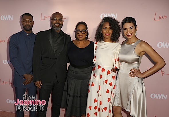 """Love Is___"" Premiere: Oprah, Salim Akil, Mara Brock Akil, Will Catlett, Michele Weaver Attend"