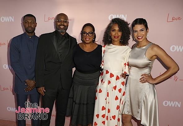 """""""Love Is___"""" Premiere: Oprah, Salim Akil, Mara Brock Akil, Will Catlett, Michele Weaver Attend"""