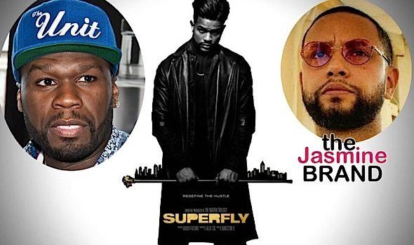 """50 Cent Trashes """"Super Fly"""" Remake & Director X"""