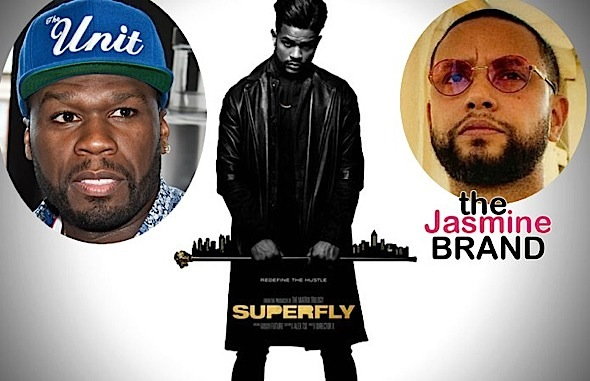 "50 Cent Trashes ""Super Fly"" Remake & Director X"
