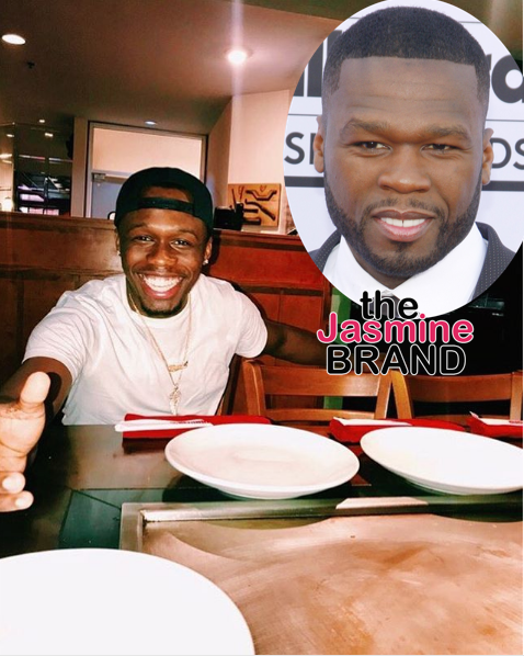 50 Cent's Oldest Son Marquise Spent Father's Day By Himself, Takes Aim At Rapper