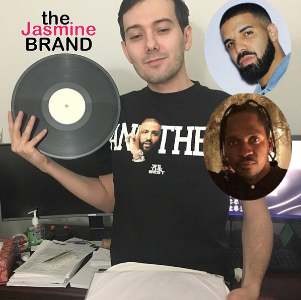 Controversial Businessman Martin Shkreli Claims To Have Drake's Unreleased Pusha T Diss Song
