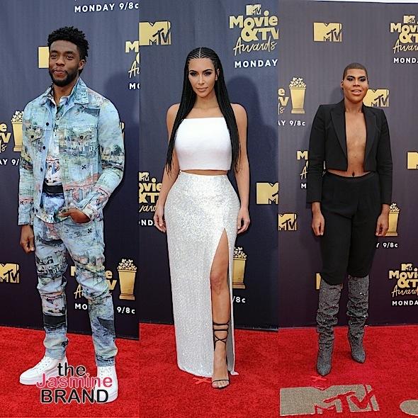 MTV Movie & TV Awards: Yara Shahidi, Kris Jenner, Halle Bailey, Chloe Bailey, Tessa Thompson, Chadwick Boseman, Kim Kardashian, EJ Johnson