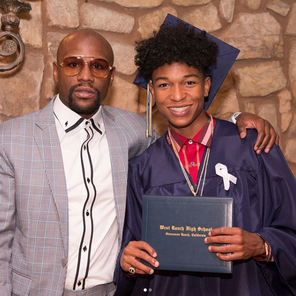 Floyd Mayweather Jr. – I Never Graduated High School, But My Son Did!