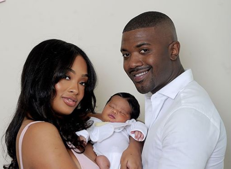 Ray J & Princess Love Debut Newborn Daughter Melody Love [Photos]