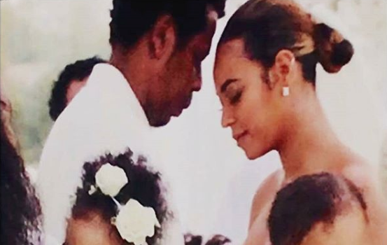Beyonce & Jay-Z Renew Their Vows [Photos]