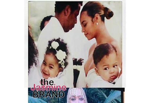 Beyonce Holds Fake Twins On Tour?
