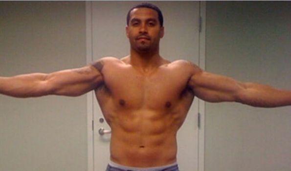 Apollo Nida Shows Off His Bangin Prison Body