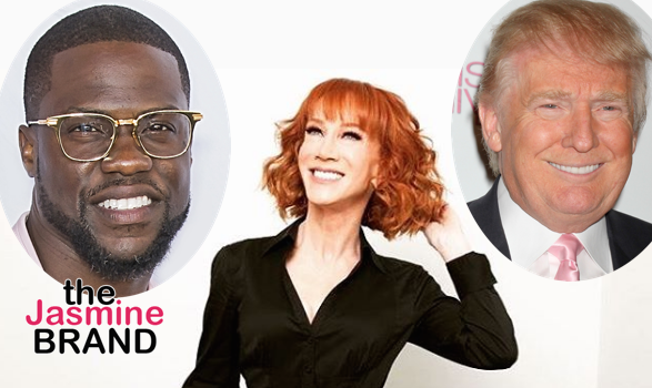 Kathy Griffin Indirectly Calls Kevin Hart A 'P*ssy' For Not Talking About Trump: He's A Black Man!