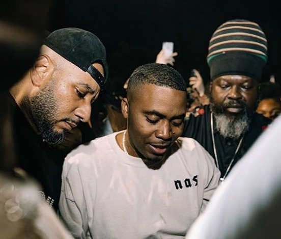 "Nas Releases ""Nasir"", Hosts Listening Party: Chris Rock, Kim Kardashian, Kanye West, Lala, Fabolous Attend [Photos]"