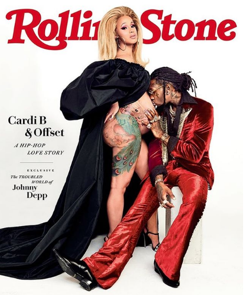 Cardi B's Maternity Cover w/ Offset Leaks!