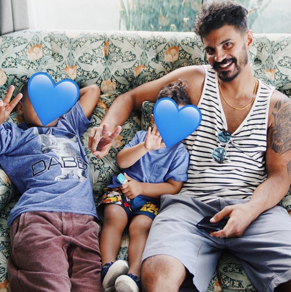 Kelis Hides Her Kids Faces On Social Media