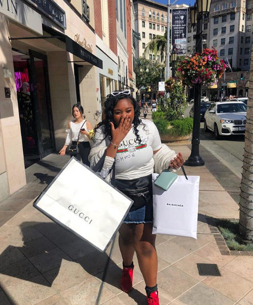 Brandy's Daughter Sy'Rai Celebrates 16th Birthday w/ Rodeo Drive Shopping Spree