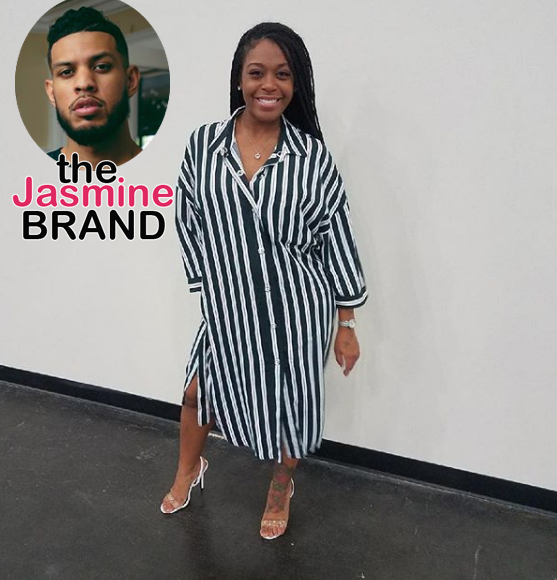"Dominique Perry Talks ""Insecure"" Baby Daddy Sarunas Jackson + Says Dating In the Industry Is 'Trash'"