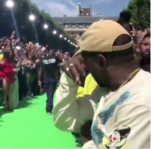 Kanye West Cries During Fashion Show [VIDEO]