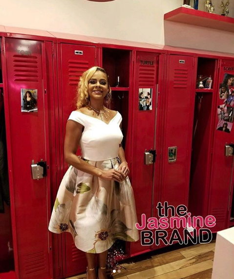 Lark Voorhies Aka 'Lisa Turtle' Spotted At 'Saved By The Bell' Pop-Up