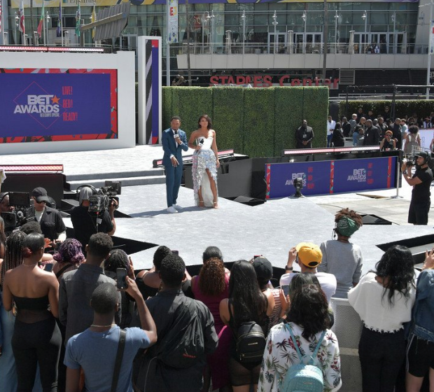 Cassie & Terrence J Shut Down By Security On Live TV [VIDEO]