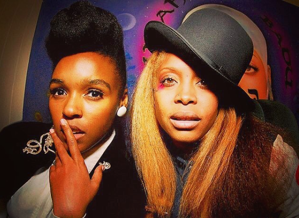Erykah Badu-I Found Out Janelle Monae Was Gay On The Internet! + Janelle's Hilarious Reaction