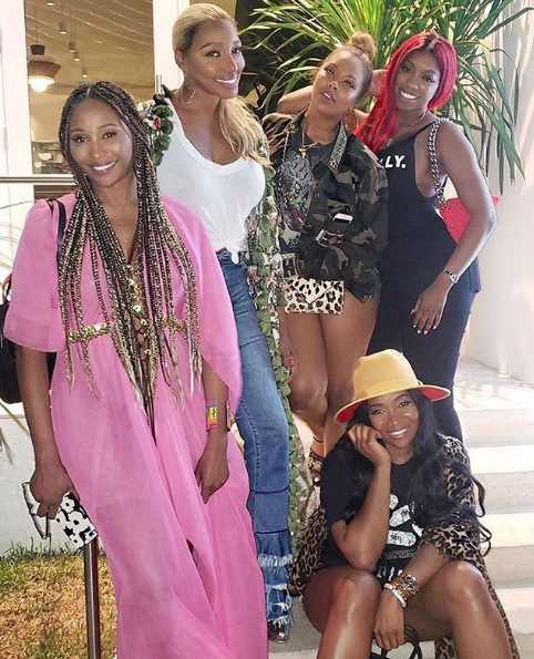 Entire RHOA Cast Films In Miami, EXCEPT Kenya Moore & Sheree Whitfield