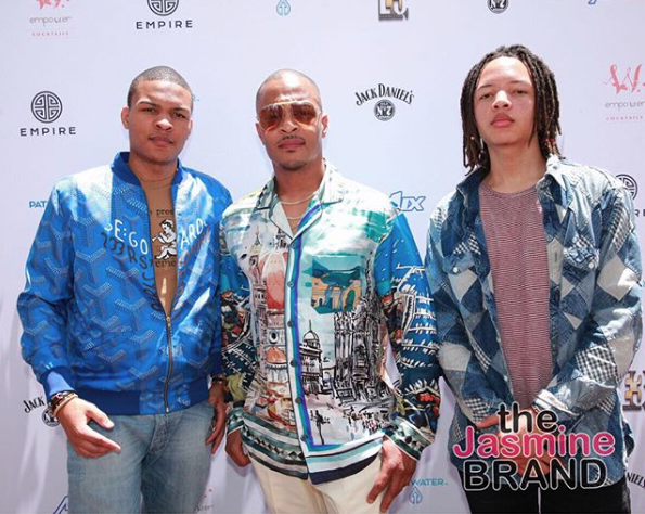 T.I, Mario, Tyga, Kyla Pratt, Too Short, Nicole Murphy Attend EMPIRE Brunch [Photos]