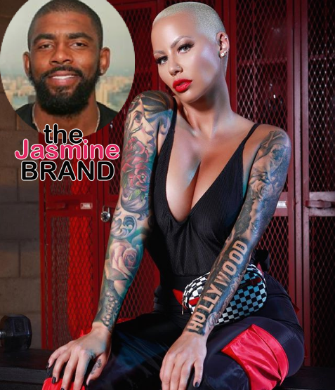 Amber Rose Denies Dating Kyrie Irving – I'm Still Recovering From My Previous Relationship