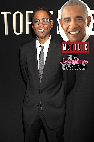 Chris Rock Warns Barack & Michelle About Netflix Deal