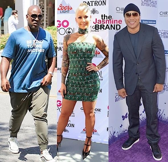 Brian Tyree Henry, Dania Ramirez, Corey Gamble, Amber Rose & LL Cool J [Celebrity Stalking]