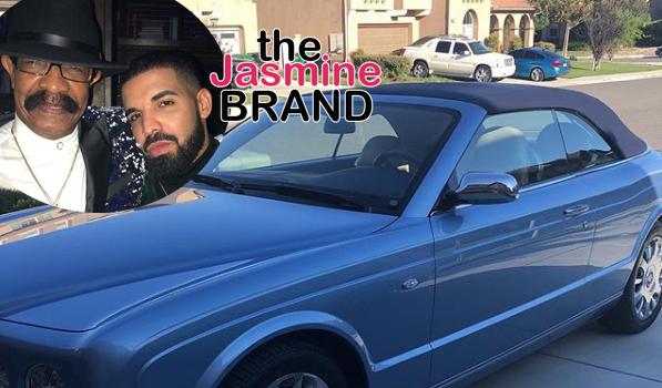 Drake Buys Dad A Convertible Bentley Azure!