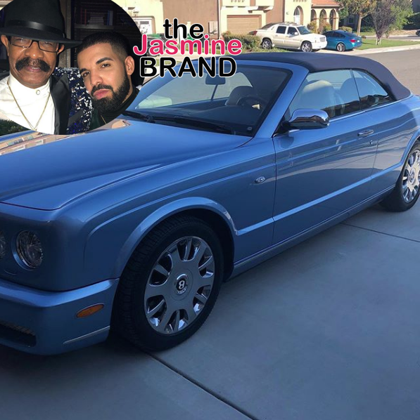 Drake Buys Dad A Convertible Bentley Azure!