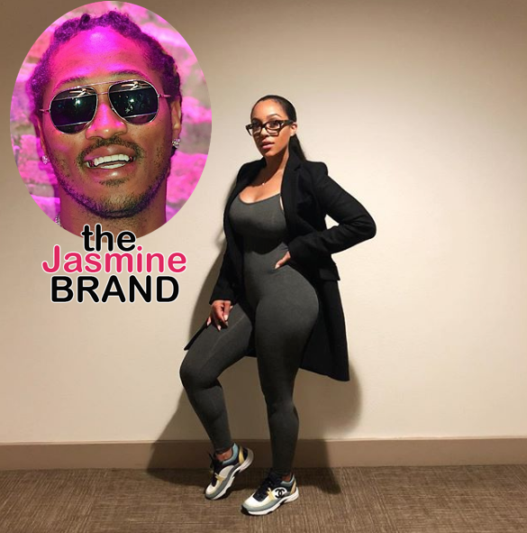 5df73006df8f Joie Chavis Hints at Future Being Her Baby Daddy
