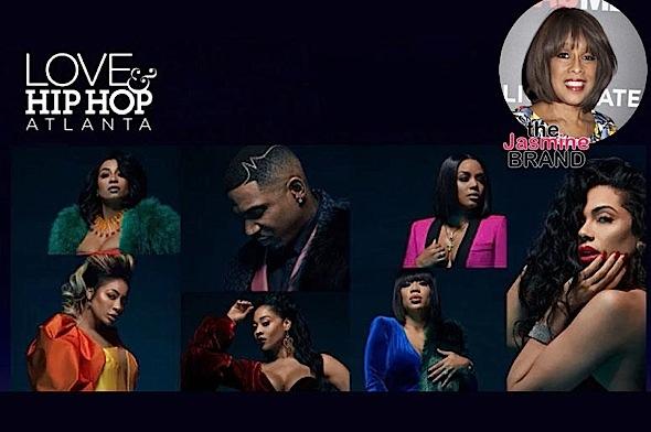 Oprah's BFF Gayle King Watches Love & Hip Hop: Atlanta