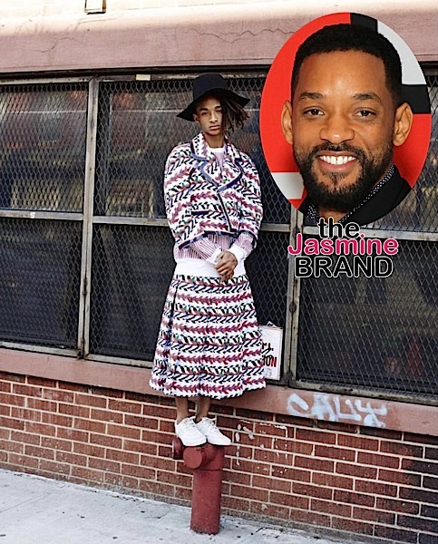 Will Smith Was Apprehensive About Son Jaden Wearing A Skirt