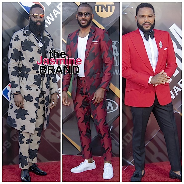 NBA Awards: James Harden Takes Home MVP Award + DJ Khaled, Meek Mill, Adrienne Bailon, Candace Parker, Chris Paul, Anthony Anderson Attend