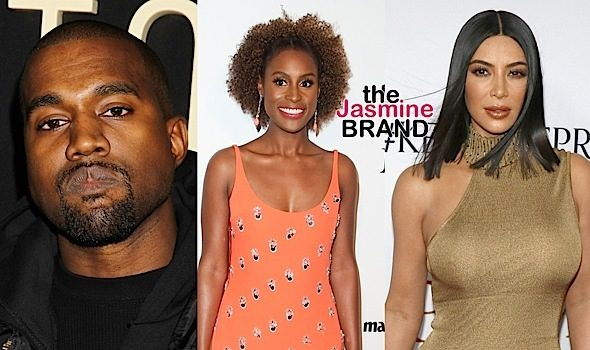 "Issa Rae Slams Kanye West in Front of Kim Kardashian, ""Insecure"" Cast Slams Rapper"