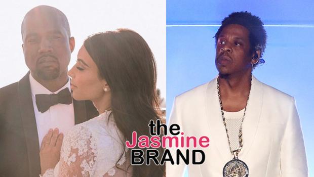 Jay-Z Explains Skipping Kim & Kanye's Wedding