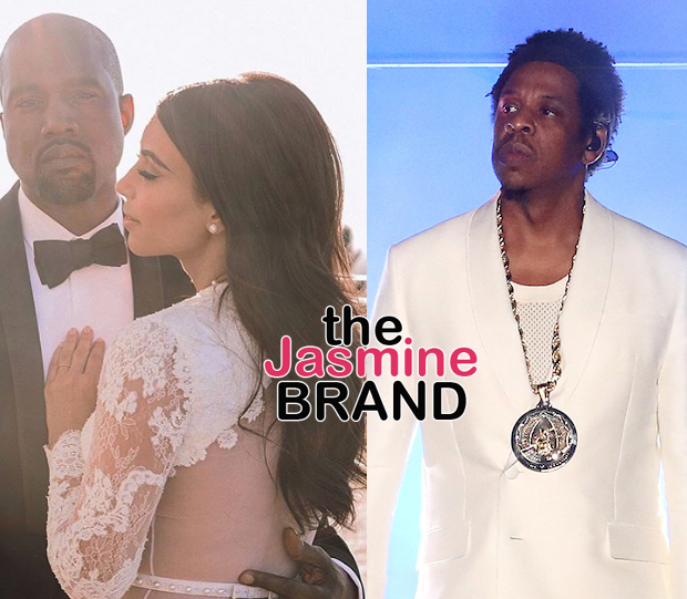 Jay-Z Explains Skipping Kim & Kanye's Wedding