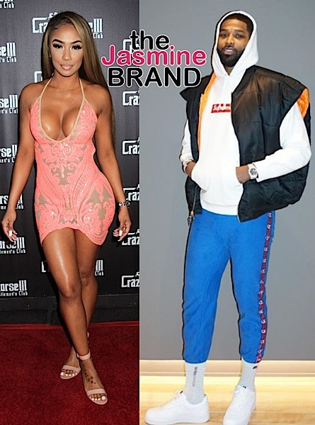 Tristan Thompson's Alleged Ex Mistress Lani Blair Parties in Las Vegas