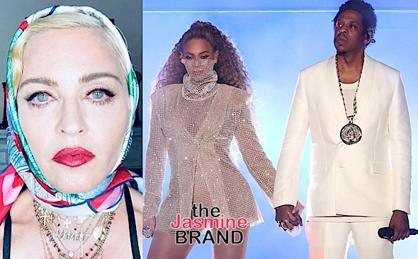 """Madonna Refers To Herself As Beyonce & Jay-Z's """"Master"""", Beyhive Attacks"""