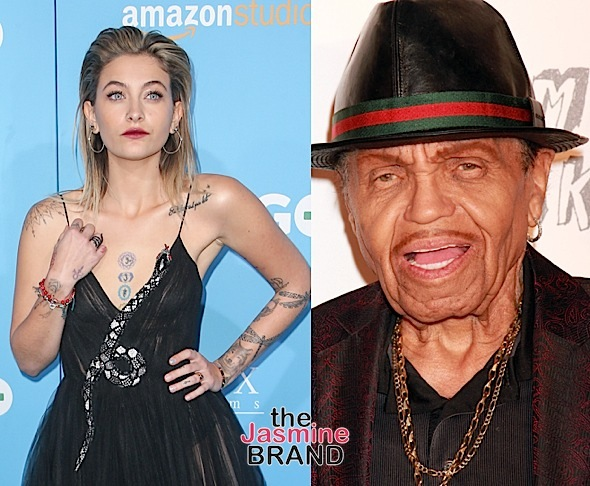 Paris Jackson Posts Open Letter To Grandfather Joe Jackson