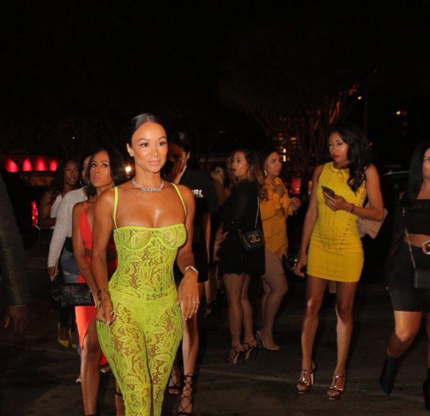 Draya Michele, Fabolous & Quincy Party in LA [Celebrity Stalking]