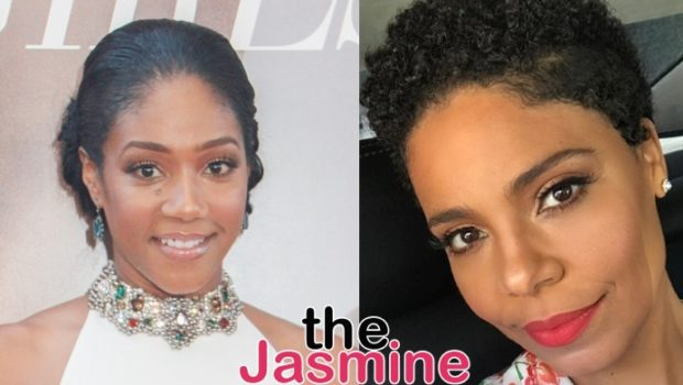Tiffany Haddish Says Sanaa Lathan's Parents Were Mad That She Revealed Actress Bit Beyonce: They Said I Tried To Ruin Her Career